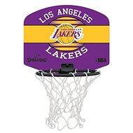 Spalding NBA miniboard LA Lakers - Kosárlabda palánk