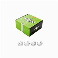 Unihoc Crater White (4 db) - Floorball labda