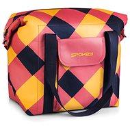 Spokey SAN REMO Thermo táska, rózsaszín-kék-sárga, 52 x 20 x 40 cm - Hűtőtáska