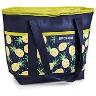 Spokey ACAPULCO Thermo táska kicsi, mintás - ananász, 39 x 15 x 37 cm - Hűtőtáska