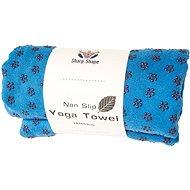 Sharp Shape Non slip towel blue - Törölköző