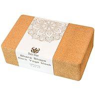 Sharp Shape Cork Yoga block - Jóga blokk
