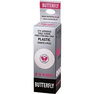 Butterfly Pingpong labdák 40+ G *** (3 db) - Pingponglabdák