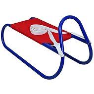 Sulov fém szánkó 62 cm, vörös-kék - Szánkó