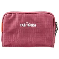Tatonka BIG PLAIN WALLET bordeaux red - Pénztárca