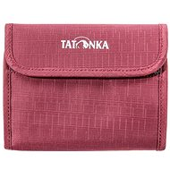 Tatonka EURO WALLET bordeaux red - Pénztárca