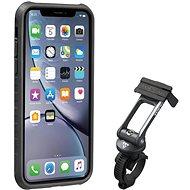 Topeakl Ridecase iPhone XR készülékhez fekete/szürke - Telefontartó