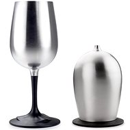 GSI Outdoors Glacier Stainless Nesting Wine Glass - Kemping edény