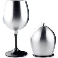 GSI Outdoors Glacier Stainless Nesting Red Wine Glass - Kemping edény