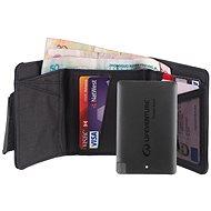 Lifeventure RFiD Charger Wallet + Power Bank grey - Pénztárca
