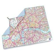 Lifeventure SoftFibre OS Map Towel Central London - Törölköző