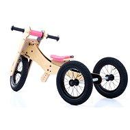 Trybike 4 az 1-ben rózsaszín - Futókerékpár