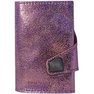 Tru Virtu Click & Slide - Glitter Rosé bőr - Pénztárca
