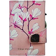 Tru Virtu Click & Slide - 3D Cherry Blossom/Silver