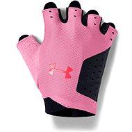Under Armour Women´s Training Glove rózsaszín/fekete - Kesztyű