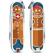 Kés Victorinox Classic Gingerbread Love zsebkés - Nůž