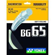 Yonex BG 65 white - Tollasütő húr