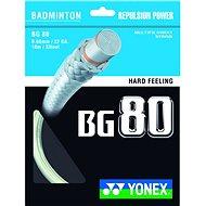 Yonex BG 80 white - Tollasütő húr
