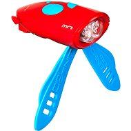 Kerékpár csengő Mini Hornit Mókás kürt piros lámpával