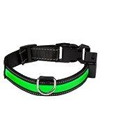 Eyenimal világító nyakörv kutyáknak - zöld - M - Nyakörv