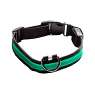 Eyenimal világító nyakörv kutyáknak - zöld - Nyakörv