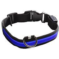 Eyenimal világító nyakörv kutyáknak - kék - M - Nyakörv