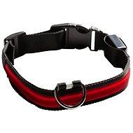 Eyenimal világító nyakörv kutyáknak - piros - Nyakörv
