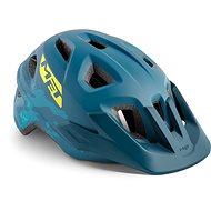 Met Eldar Camo Petrol, kék S/M - Kerékpáros sisak