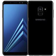Samsung Galaxy A8 Duos fekete - Mobiltelefon
