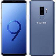 Samsung Galaxy S9 + Duos kék - Mobiltelefon