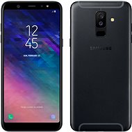 Samsung Galaxy A6+ fekete - Mobiltelefon