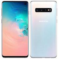 Samsung Galaxy S10 Dual SIM 512GB, fehér - Mobiltelefon