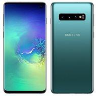 Samsung Galaxy S10 Dual SIM 512GB, zöld - Mobiltelefon