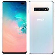 Samsung Galaxy S10+ Dual SIM 128GB, fehér - Mobiltelefon