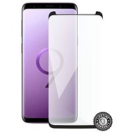 Screenshield SAMSUNG G960 Galaxy S9 Tempered Glass Protection (fekete - CASE FRIENDLY) képernyőre - Képernyővédő