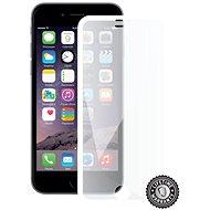 Screenshield APPLE iPhone 6 készülékhez metálfehér keret - Képernyővédő