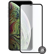 Screenshield APPLE iPhone XS Max készülékhez (full COVER black) - Képernyővédő