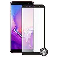 Screenshield SAMSUNG Galaxy J6+ (2018) készülékhez (full COVER black) - Képernyővédő