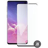 Screenshield SAMSUNG Galaxy S10 (fekete- CASE FRIENDLY)