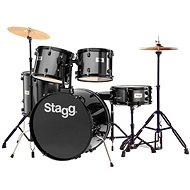 Stagg TIM122B BK - Dobkészlet