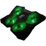 "Hűtőpad SUREFIRE Bora Gaming 17"", zöld"