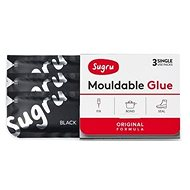 Sugru Mouldable Glue 3 pack - fekete - Lepidlo