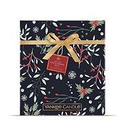 YANKEE CANDLE karácsonyi ajándék készlet Adventi könyv 24 db - Ajándékcsomag