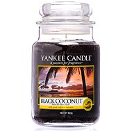 YANKEE CANDLE Classic Black Coconut, nagyméretű, 623 gramm - Gyertya