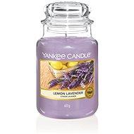 YANKEE CANDLE Classic Lemon Lavender, nagyméretű, 623 gramm - Gyertya