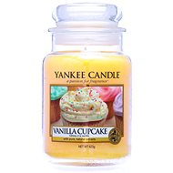 YANKEE CANDLE Classic Vanilla Cupcake, nagyméretű, 623 gramm - Gyertya