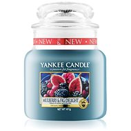YANKEE CANDLE Classic Mulberry & Fig Delight közepes méretű 411 g