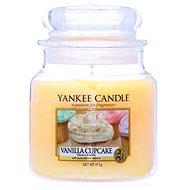 YANKEE CANDLE Classic Vanilla Cupcake, közepes méretű, 411 gramm - Gyertya