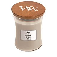 WOODWICK Wood Smoke Medium Candle 275 gramm - Gyertya