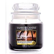 YANKEE CANDLE Classic Black Coconut, közepes méretű, 411 gramm